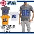 ☆夏物最終処分特集☆FRANKLIN&MARSHALL フランクリン メンズ 92 両面プリント Tシャツ<ラスト4点>