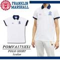 【激安!】◆お買い得春夏商材◆FRANKLIN&MARSHALL 国旗ワッペン ポロシャツ<ラスト2点>