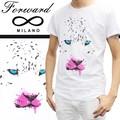 ☆夏物最終処分特集☆Forward Milano フォワードミラノ メンズ 半袖 Tシャツ<ANIMAL>