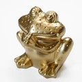 【ポルトガル の かえる とその仲間たち】 テラコッタ製 ゴールド おねがい カエル ヨーロッパ
