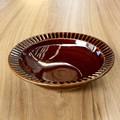 【ギフトショー秋2016】■【made in japan/かる〜い器】飴釉 削ぎ鉢