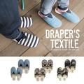 【即納可能】DRAPER'S テキスタイルスリッパ レディース/メンズ