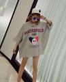 大きいサイズ☆BAKERSFIELDドルマンTシャツダメージ LL~4L