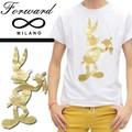 ☆夏物最終処分特集☆Forward Milano フォワードミラノ 半袖 Tシャツ<B・BUNNY><ラスト1点>