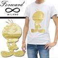 ◆お買い得春夏商材◆★最終処分★Forward Milano フォワードミラノ Tシャツ<T・BIRD><ラスト1点>