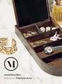 【北欧雑貨】MENU Jewellery Box ジュエリーボックス ダーク 3400839