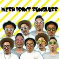 【おもしろ 雑貨 サングラス】MESH PRINT Sunglass メッシュプリント サングラス 変装 メガネ ジョーク