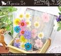 <スマホケース>【399シリーズ!】本物の花を贅沢に♪ Xperia Z5 (SO-01H/SOV32/501SO)用押し花ケース
