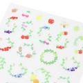 【手帳に書いた予定や罫線を楽しく彩る】シール2279 小さな木の実柄