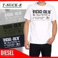 ◆お買い得春夏商材◆★SALE★DIESEL ディーゼル メンズ プリント Tシャツ<3カラー><ラスト2点>