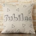 クッションカバー 北欧デザイン プレーン ジュビリー Jubilee London 45×45cm リネン
