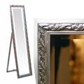 自立 姿見ミラー【-壁掛けミラー】アンティーク,シャビーシックな壁掛け鏡