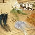NEW【Angie】 リアルフェザー羽毛 B ゴールド ピアス!4色展開。シンプル&フェミニン!