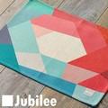 ランチョンマット 2枚セット 北欧 レッド ホール Lamoppe × ジュビリー Jubilee ティータオル