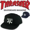 THRASHER SKATEGOAT WOOL BLEND SNAP  14865
