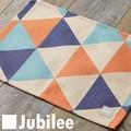 ランチョンマット 2枚セット 北欧 ジュビリー Jubilee ブルー オレンジ ダイヤモンド ティータオル