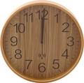 ブライウッド電波掛時計 (Φ28cm) 〈NA、BR、WH、NV〉