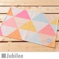 ランチョンマット 2枚セット 北欧 ジュビリー Jubilee イエロー オレンジ ダイヤモンド ティータオル