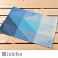 ランチョンマット 2枚セット 北欧 ジュビリー Jubilee ブルー ミント ダイヤモンド ティータオル