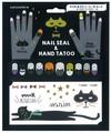 【即納】ハロウィン ネイル&タトゥーシールセット CATファミリー【ハロウィーン】【HALLOWEEN】