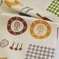 【生地】【布】【コットン】キッチン(ナチュラル) デザインファブリック★50cm単位でカット販売