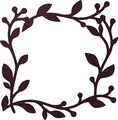 【直送可能】壁面に飾って楽しむ <国産>アイアン風プランテフレーム スクエアフォーリア