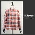 ☆SALE☆【PAREATSU・A/W】フランス生地・シャーリングチェックシャツ