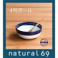【白山陶器】マルティブルー 4号<波佐見焼>