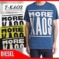 ★DIESEL夏物特集★大特価★DIESEL ディーゼル メンズ Tシャツ<MORE KAOS><ラスト1点>
