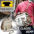 【MOUNTAINSMITH】マウンテンスミスDAY CLASSIC HEMP NO.40364 ナチュラルな麻素材がカジュアルにフィット