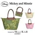 ディズニー ミッキー かわいい シンジカトウ・折畳みトートバッグ[SKD-192]エコバッグ マザーズバッグ