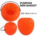 【ハロウィン】【アメ雑 雑貨】パンプキン ミニバスケット カボチャ お菓子入れ かぼちゃ