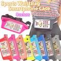 【運動 スポーツ】スマホジョギングポーチ ジョギング ウエストポーチ スマートフォン iPhone ランニング