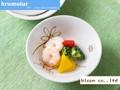【キルメルール】小鉢/ハナ/単品5個入(発注単位5)/14.5x4.5cm/MADE IN JAPAN