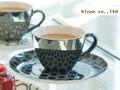【シャイン】セスタコーヒー&ソーサー/経8.5cm/単品/16x2cm/16x2cm/MADE IN JAPAN