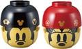 汁椀・茶碗ペアセット大 ミッキーマウス&ミニーマウス【ディズニー】