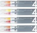 ZIG クリーンカラー リアルブラッシュ 4色セット