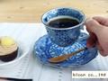 【ネジリ祥瑞】コーヒー碗皿/8.5cm/単品/8.5x6.5cm/15.5x2.5cm/MADE IN JAPAN