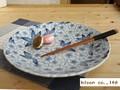 【生産中止売切れ御免】【染付】花舞33大皿/33x4.5cmプレート/単品/MADE IN JAPAN