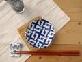 【藍komon】小皿/釘抜き/10x2.5cm/単品5個入(発注単位5)/MADE IN JAPAN