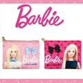 【国内ライセンス】バービー(Barbie)サテン フラットポーチ