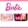 【国内ライセンス】バービー(Barbie)サテン 舟型ポーチ