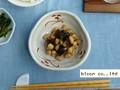 【赤絵】粉引小花小鉢/13x4.5cm鉢/単品5個入(発注単位5)/MADE IN JAPAN