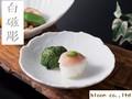【花白磁】銘々皿/14.5x3cm/単品5個入(発注単位5)/MADE IN JAPAN