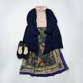 【即納AW*item】[スカート] フェームペイズリースカート