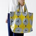 【3色展開】《Feel Happyシリーズ》ママバッグにも使える大きめサイズのショルダーバッグ♪