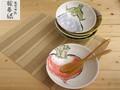 【絵手紙】煮物鉢揃/18x5cm/セット/MADE IN JAPAN