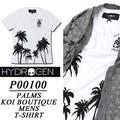 ★大特価★HYDROGEN ハイドロゲン メンズ パインロゴ ボタニカル Tシャツ<ラスト2点>