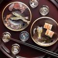 【日本製】江戸猫ぐらす 歌川国芳浮世絵 丸皿