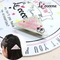 ★2016年ニコプチ10月号掲載商品★【Le cocone】Message☆めだま三角クリップ